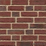 # # Клинкерный кирпич Feldhaus Klinker — 672 cerasi viva красный пестрый, ручная формовка